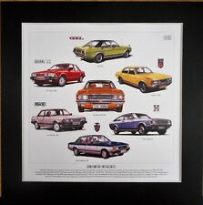 Ford Granada Stunning Artwork Print