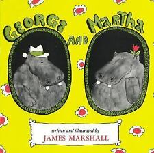George and Martha: George and Martha by James Marshall (1974, Paperback)