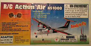 NEW R/C Action Air AS1000 Battery operated Airplane 2006 RARE NEver OPENED!