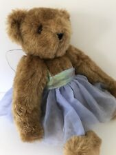 Vermont Posable Jointed Ballerina Bear Purple Tutu Wings