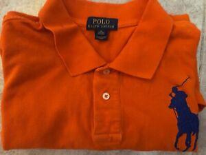 Polo Ralph Lauren, arancione, taglia XL