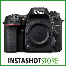 Nikon D7500 Digital SLR Camera (Body Only) - 3 Year Warranty