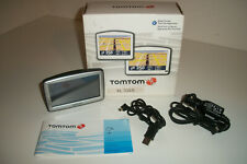 """TomTom XL 330-S Car GPS Navigator Set USA/Canada Maps 4.3"""" LCD Screen With Box"""