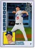 Walker Buehler 2019 Topps Update 1984 Topps 5x7 #84-48 /49 Dodgers