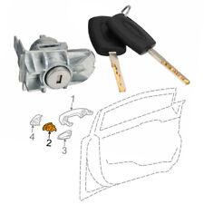 1552849 Door Lock Cylinder Barrel +Keys Repair Kit For Ford Focus C-Max S-Max