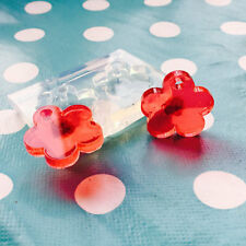 SILICONE EARRING MOLD - 25mm Flower Daisy Shape Dangle Statement Earrings