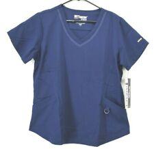 Grey's Anatomy Barco Impact Large Nursing Doctor Scrubs 3 Pocket Seamed V-Neck