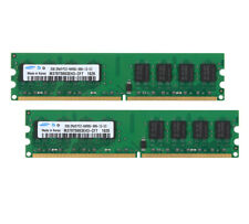 For Samsung 4GB 2x 2GB PC Desktop Memory PC2-6400U DIMM Ram DDR2-800MH Intel @RS