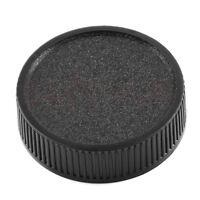 2Pcs Rear Lens Cap Cover For M42 42mm 42 Screw Mount Black Hot