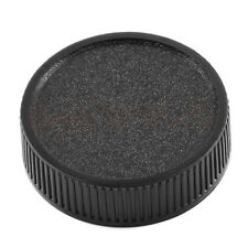 2Pcs Rear Lens Cap Cover For M42 42mm 42 Screw Mount Black
