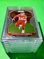 Patrick Mahomes PANINI PRIZM HOT NEW CHIEFS FOOTBALL CARD INVESTMENT - Mint!