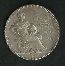 Jeton Argent Caisse d'épargne et prévoyance Paris 1894
