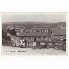 More details for llanybyther of llanybydder railway station, cardiganshire rp postcard unused