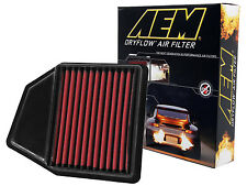 AEM 28-20402 STOCK REPLACEMENT WASHABLE REUSABLE PANEL AIR FILTER [MADE IN USA]