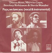 7inch DIANA ROSS, MARVIN GAY. E.A.pops, we love youHOLLAND EX 1978 (S2220)