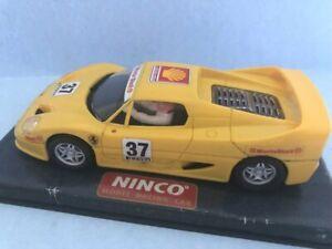 Ninco Ferrari F50 (NC1 motor) VG/B Scalextric compatible.