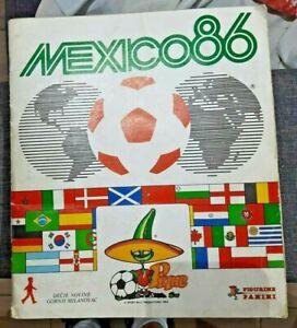 Mexico 86 FIFA World Cup Panini Album Full