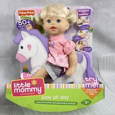 Fisher Price Little Mommy Play All Day Interactive Doll 50 Phrases 2009 New
