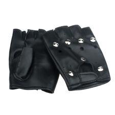 Accessoires mitaines en cuir synthétique pour homme