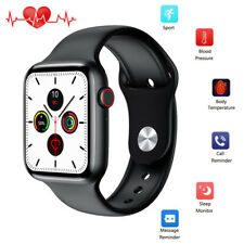 Smart Watch Body Temperature Heart Rate ECG Monitoring Fitness Activity Tracker