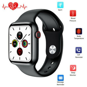 Sport Smart Watch Body Temperature Heart Rate ECG Monitor for iPhone Samsung HTC