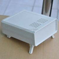 HQ Instrumentation ABS Project Enclosure Box Case, White, 140x170x60mm, Plastic