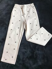Boys Khaki Dress Pants with Skulls and Crossbones Size 12