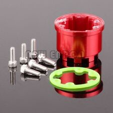Red Aluminum Differential Diff Case For SUM011 RC 1/10 Traxxas Summit Slayer