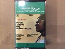 Mahalia Jackson singt Weihnachtslieder - MC / Musikkassette - Cassette - Tape