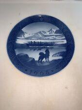 "Royal Copenhagen 1968 ""The Last Umiak"" Collector Plate"