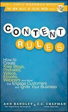 Content Rules: How to Create Killer Blogs, Podcasts, Videos, Ebooks, Webinars (a