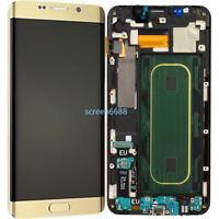 Pantalla LCD Táctil Display+Marco Para Samsung Galaxy S6 Edge+ Plus SM-G928F Oro