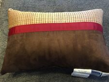 "Croscill Pondera Boudoir Pillow 18"" x 12"" Oblong Decorative Pillow"