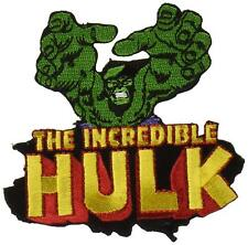 The Incredible Hulk Reach Embroidered Iron On Patch - Marvil Comics 139-F