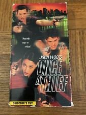 Once A Thief VHS