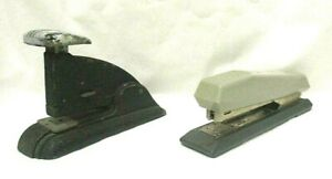 2 Vintage Staplers Speed Products Co. Art Deco & Faber Castell Made in Sweden