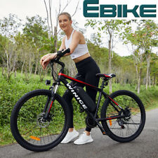 E-Bike Elektrofahrrad Mountainbike e bike 26 Zoll 250W Motor Shimano Pedelec Rot
