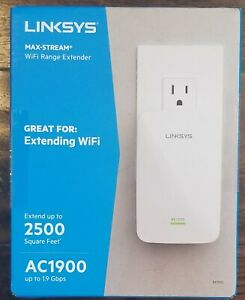 LINKSYS MAX-STREAM AC1900 WIFI RANGE EXTENDER RE7000 NEW!