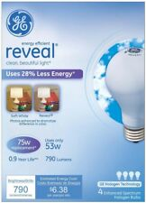 GE Soft White Reveal A Line Halogen Bulb 4 ea