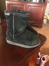 Bearpaw Toddler Boot Black Size 10