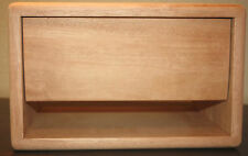 rawcabs African Mahogany head cabinet for Frenzel 5E3 DP chassis