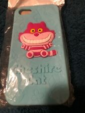 For iPhone 5/5S/SE - SOFT RUBBER SILICONE CASE COVER COLORFUL Cheshire Cat