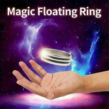 Magic Floating Ring Magic Props Trick Floating Effect of Invisible Stage Perform