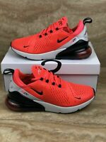 Nike Air Max 270 Red Orbit Black Running Shoes Men's Size 11.5 Sneakers