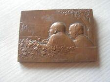 belle   medaille  en bronze 1986  par rene baudichon