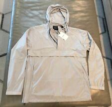 NWT Theory Mens Hevel Stretch Nylon Anorak Light Hood Rain Jacket Small $395