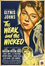 Weak And Wicked Poster 02 A2 Box Canvas Print