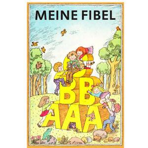 Meine Fibel Lesebuch - ehemalige DDR Produkte + Geschenkkarte
