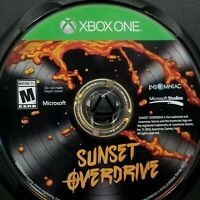 Microsoft XBOX ONE Sunset Overdrive Video Game Disc Only