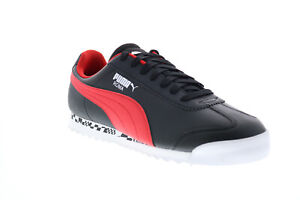 Puma Ferrari Race Roma Mens Black Motorsport Sneakers Shoes 10